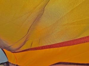 tent sunrise