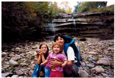Deb and Girls abt 1999